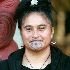Moko (tattoos) were applied to the face and body. In men the moko could cover the whole face.