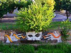 Love this > RT Buras-Elsen: When Street Art meets nature. Urban Art in Mendoza, Argentina Murals Street Art, Street Art Graffiti, Mendoza, Man Vs Nature, Art Nature, Urban Graffiti, Best Street Art, Art Deco, Dope Art