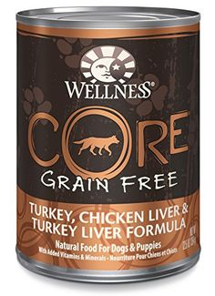 Shopping for Wellness CORE Natural Grain Free Turkey, Chicken Liver & Turkey Liver Recipe Wet Dog Food, oz, Case of 12 X OZ? Free automatic delivery may be available by subscription. Healthy Protein, High Protein, Healthy Weight, Liver Recipes, Dog Food Recipes, Wellness Core, Grain Free Dog Food, Minerals, Gourmet