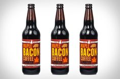Maple Bacon Coffee Beer  Really That Settles It: There Is A God!