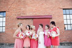 Ombre #Bridesmaids Dresses I Derrick Tribbey Photography I http://www.weddingwire.com/wedding-photos/real-weddings/coral-and-mint-texas-wedding/i/c2ac5858fc94953e-3671f093b81bf0b6/b149382a031c8c8a