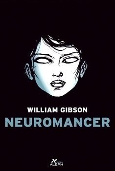 "Cover of the Brazilian release of William Gibson's Neuromancer, depicting the character of ""razorgirl"" Molly Millions."