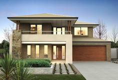 Clarendon Home Designs: Sherwood 42 S - Facade Option 4. Visit www.localbuilders.com.au/builders_nsw.htm to find your ideal home design in New South Wales