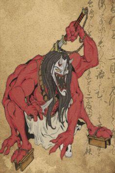 25+ best ideas about Japanese Oni on Pinterest | Japanese oni mask ...