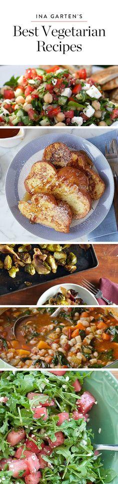 Ina Garten's Most Delicious Vegetarian Recipes Ever via @PureWow
