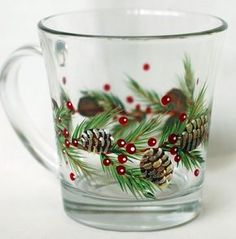 CBP0016 Pinecones and Boughs Pattern Packet