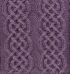 Free Pattern: Afghan block - Celtic Braid by Sarah Bradberry