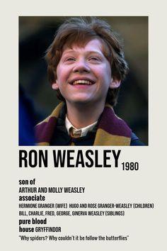 ron weasley minimalist poster