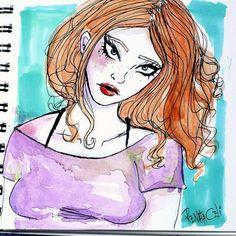 #Watercolor #aquarela #drawing #sketchbook #desenho #art #sketch #ilustraçao