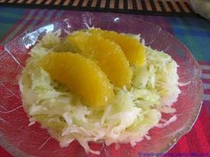 Spitzkohl-Orangen-Salat