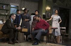 A RAISIN IN THE SUN (2014 Broadway revival) ~ Starring Denzel Washington