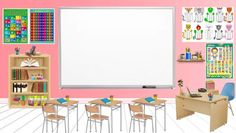 Classroom Background, Powerpoint Background Design, Learning Centers, Office Desk, Kids Rugs, House Design, School, Furniture, Home Decor