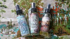 Set of 3 Voodoo Underworld Ancestral Altar Mists, The 7 Gates of Guinee, The Deep Waters, & Sittin' Up With the Dead - The Barefoot Witchery Shoppe Baron Samedi, New Orleans Voodoo, Greenwood Cemetery, Best Of Intentions, Before Us, Underworld, The Conjuring, Altar, Gates