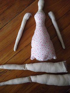 tutorial / pattern for a Tilda Doll