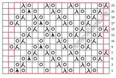 针织模式:图阵(图案729) - maomao - 我随心动