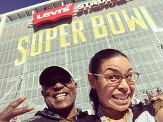 Pin for Later: Get an Inside Look at Super Bowl 50, Courtesy of Your Favorite Stars Jordin Sparks