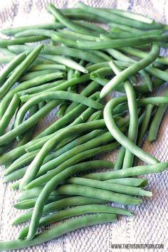 Best Green Bean Recipe: Balsamic Oven-Roasted Green Beans