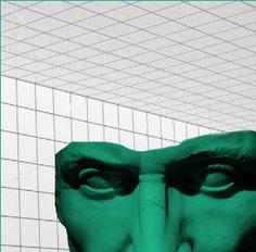 Cyber Caesar  #collage #mine #art #dadashojai #statue