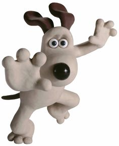 Gromit, maybe a tattoo?