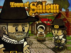 Murder in the Town of Salem Good little game and review at http://twentyoz.com