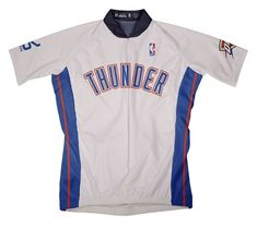 NBA Oklahoma City Thunder Mens Short Sleeve Cycling Home Jersey Medium White * Read more reviews of the product by visiting the link on the image.Note:It is affiliate link to Amazon.