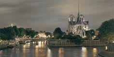 Rod Chase Notre Dame D Paris - Southwest Gallery: Not Just Southwest Art. Paris France, Southwest Art, Fine Art Gallery, Amazing Destinations, Tower Bridge, Impressionism, Artwork, Explore, Adventure
