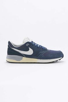 Nike Air Odyssey Navy Trainers - Urban Outfitters