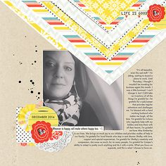 Life is Good   Simple Scrapper   Kimberly Kalil Designs