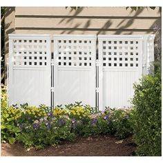 Outdoor Screen Enclosure Lawn And Garden Decor Home Yard Privacy Fence White New in Home & Garden, Yard, Garden & Outdoor Living, Garden Fencing, Fence Panels This Old House, Patio Gazebo, Wood Pergola, Diy Pergola, Backyard Landscaping, Pergola Shade, Pergola Ideas, Backyard Privacy, Cheap Pergola