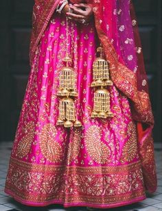 Real Bride Harpreeti's Wedding Lehenga by Ritu Kumar