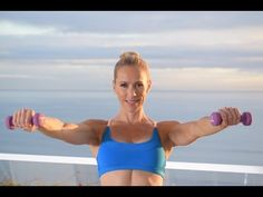 TABATA Workout With Focus On Upper Body with Julia Bognar 22 min - YouTube