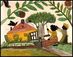 Clementine Hunter. Primitive Artist from Louisiana