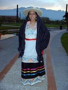 Traje típico de Michoacan