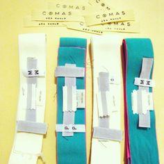 Kits de aviamentos para novos chemises.