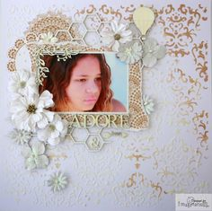 Imaginarium Designs: White with . a winner! Muted Colors, Happy Sunday, Scrapbooking Layouts, Embellishments, Whimsical, Mixed Media, Vibrant, Girly, Paper Crafts