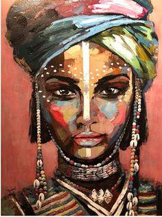 Handmade Oil Painting On Canvas Abstract Painting Abstract Art Dark Ab – radishral Black Art Painting, Oil Painting Abstract, Abstract Canvas, Canvas Art, Art Pour Salon, African Art Paintings, Africa Art, Human Art, African American Art