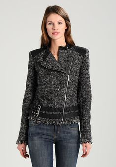Guess CONSTANCE JACKET - Blazer - grey lurex - Zalando.no
