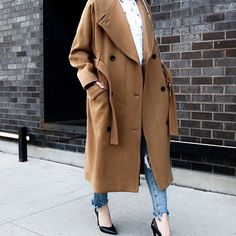 Instantly upgrade any outfit with a stunning statement coat.
