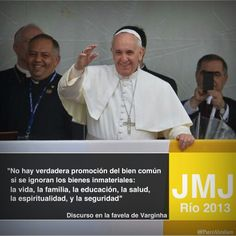 Discurso del Papa en la Favela Varginha II