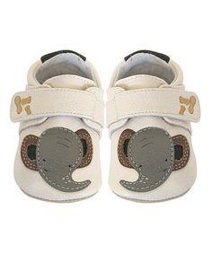 Cream Elephant Bootie ... love these!!