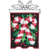 Create unique home décor for all seasons! Choose from a wide selection of beaded banner kits from Herrschners! Pony Bead Crafts, Beaded Banners, Peyote Beading, Steel Rod, Pony Beads, Merry And Bright, Holiday Treats, Bead Weaving, Perler Beads