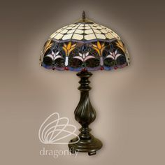 Lampa witrażowa Mikado G161278