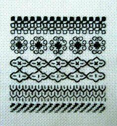 blackwork embroidery - Google 検索