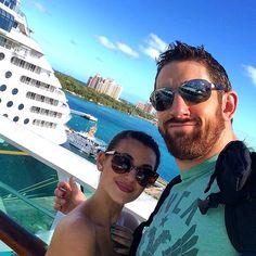 WWE Superstar Stuart Bennett (Bad News Barrett) and his girlfriend Rachel David