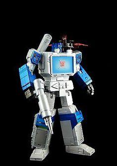 Custom Transformers Masterpiece Shattered Glass Soundwave & laserbeak MP-13 G1