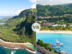 "It's leis vs. dreadlocks when Hawaii and Jamaica battle it out for the title of ""Best Island Vacation."""