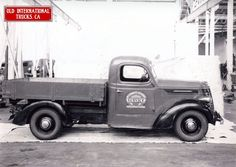 1937 International D-2 half ton truck from Britain.