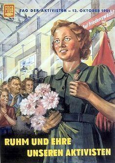 DDR Plakat   DDR Propaganda   Thomas Biesel   Flickr