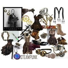 #Steampunk by notmyusername on Polyvore