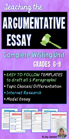 Steps to writing a persuasive essay middle school